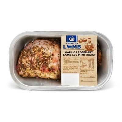 Lamb Leg Mini Roast Garlic & Rosemary