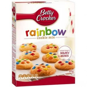 rainbow cake mix betty crocker cookie mix rainbow ratings mouths of mums 6942