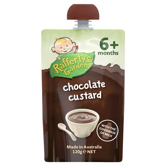 Rafferty's Garden Food 6 Months Chocolate Custard