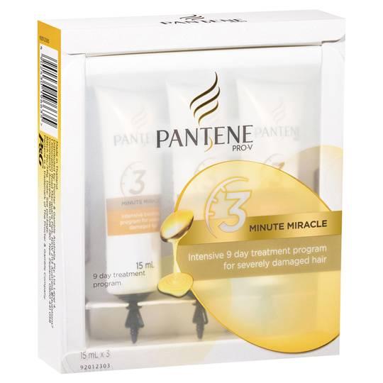 Pantene Pro-v 3 Minute Miracle Intensive Treatment Program