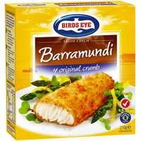Birds Eye Oven Bake Crumbed Barramundi
