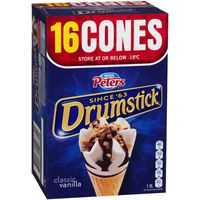Peters Drumstick Ice Cream Vanilla