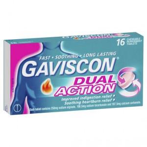 Gaviscon Antacids Dual Action