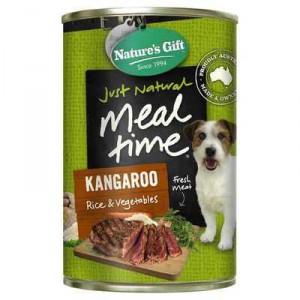 Nature's Gift Adult Dog Food Kangaroo Rice & Vegetable