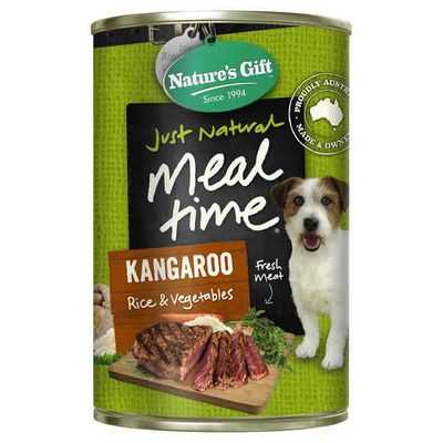Sammstein reviewed Nature's Gift Adult Dog Food Kangaroo Rice & Vegetable