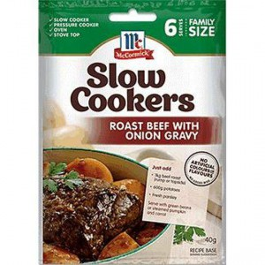 Mccormick Slow Cookers Beef With Onion Gravy