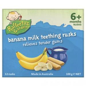Rafferty's Garden Snacks Snack Banana Milk Rusks