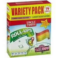 Uncle Tobys Rollups Rainbow Variety