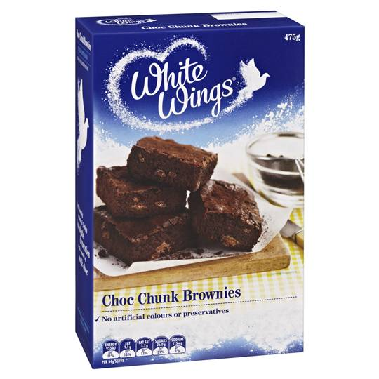 White Wings Brownie Mix Chocolate Chunk