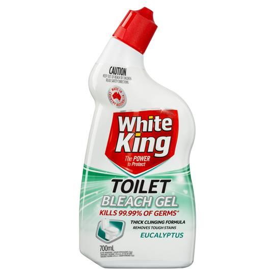 Bleach Bathroom Cleaner: White King Power Clean Toilet Cleaner Bleach Gel