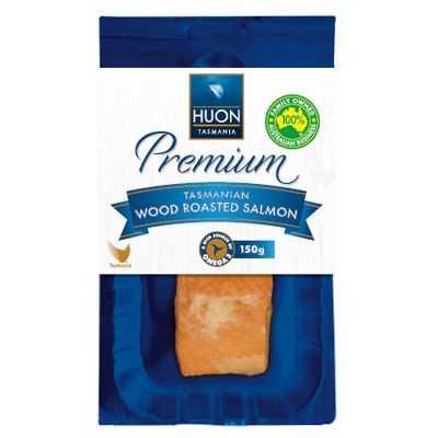 Lisa reviewed Huon Tasmanian Smoked Salmon Wood Roasted