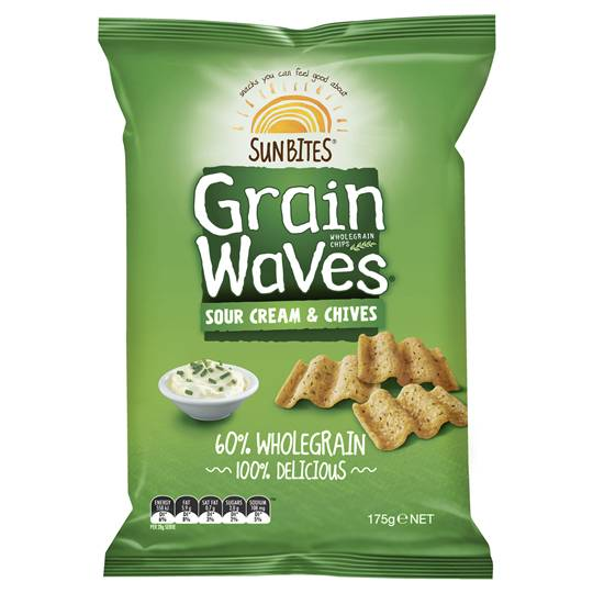 LuckyMum reviewed Sunbites Grain Waves Sour Cream & Chives
