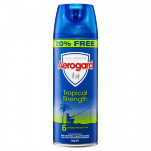 Aerogard Insect Repellent Tropical Strength 20% Free