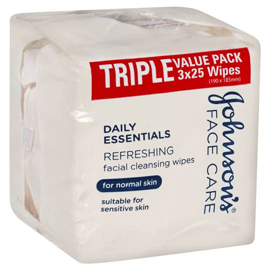 mom325811 reviewed Johnson's Facial Wipes Normal Skin