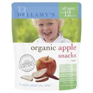 Bellamys Organic Snack Apple