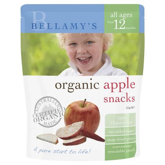 mom114371 reviewed Bellamys Organic Snack Apple