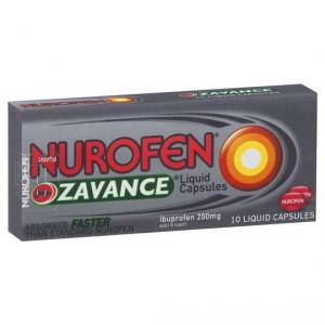 Nurofen Capsules Liquid Zavance