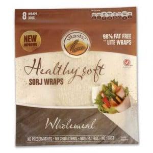 Vitastic Sorj Healthy Wraps Wholemeal