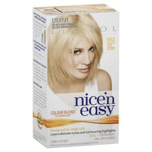 Clairol Nice N Easy Sb2 Natural Light Cool Summer Blonde