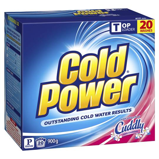 Cold Power With Cuddly Top Loader Laundry Powder Ratings