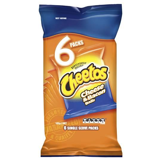 Cheetos Multipack Cheese & Bacon Balls