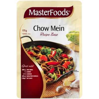 mom86684 reviewed Masterfoods Recipe Base Chow Mein