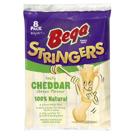 Bega Stringers Cheddar Cheese Ratings - Mouths of Mums