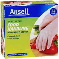 Ansell Handy Fresh Disposable Gloves Medium