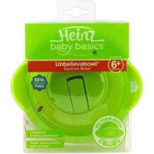 Heinz Baby Basics Suction Bowl 6 Months+