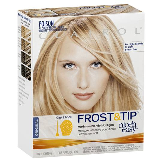 Clairol Nice N Easy Frost & Tip Max Blonde Highlight