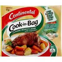 Continental Cook-in-bag Recipe Base Roast Lamb With Vegetables
