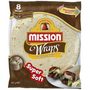 Mission Wraps Wholegrain
