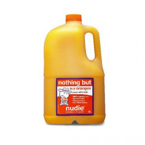 Nudie Nothing But Orange Juice