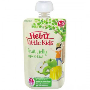 Heinz Jelly Pouch Apple & Kiwi Fruit