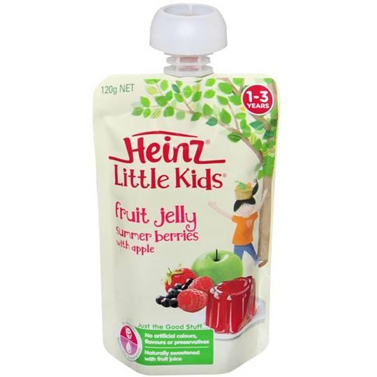 Heinz Jelly Pouch Summer Berry & Apple