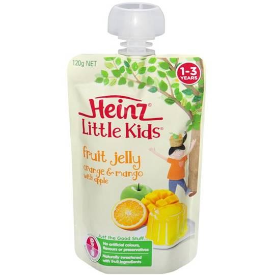 Heinz Jelly Pouch Mango & Apple