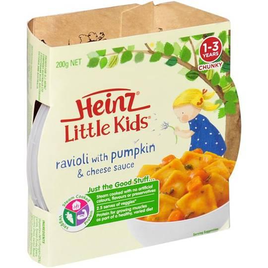 Heinz Little Kids Pumpkin And Cheese
