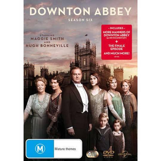 Downton Abbey Dvd Season 6
