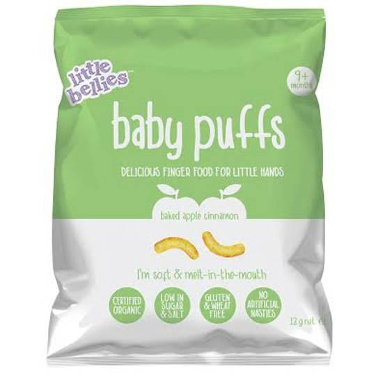 Little Bellies Baby Puffs Baked Apple & Cinnamon