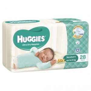 Huggies Nappies Ultra Dry Newborn