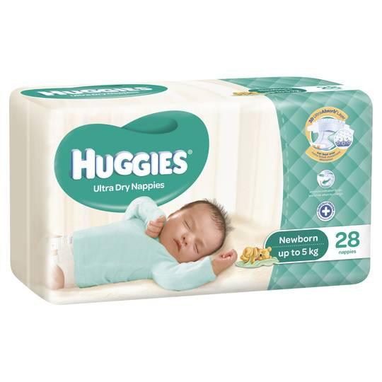 mom337845 reviewed Huggies Nappies Ultra Dry Newborn