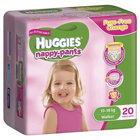 Susanna Martin reviewed Huggies Nappy Pants Walker For Girls