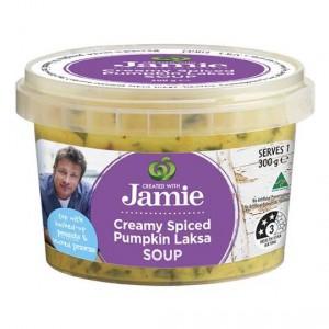Created With Jamie Soup Creamy Spiced Pumpkin Laksa