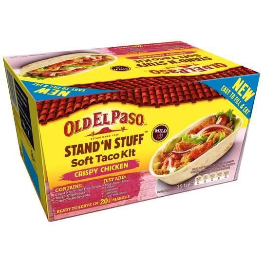 Old El Pasco Stand & Stuff Kit Crispy Chicken