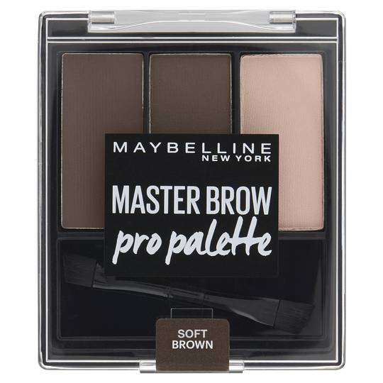 Maybelline New York Brow Pro Palette Soft Brown