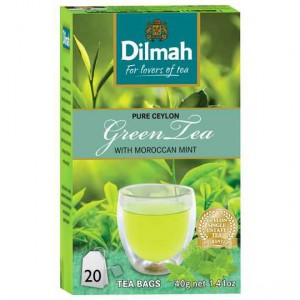 Dilmah Green Tea Morrocan Mint