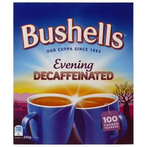 Bushells Black Tea Evening Decaffeinated