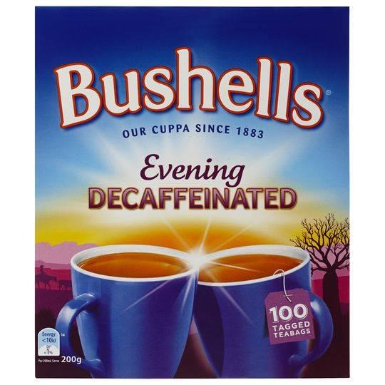 Bushells Black Tea Evening Decaffeinated