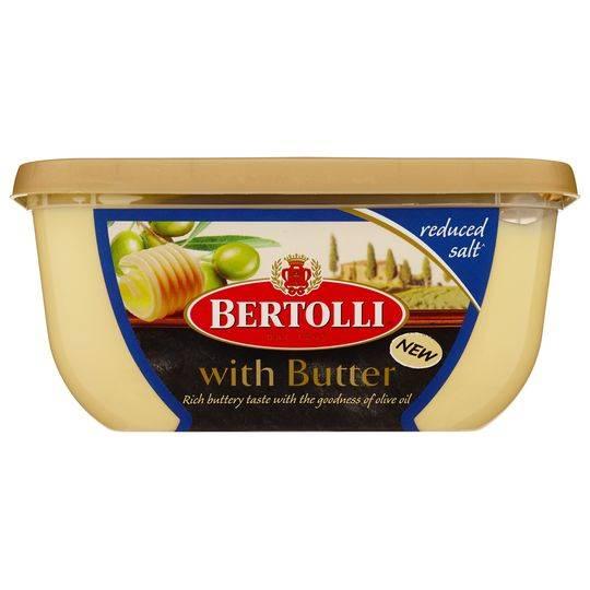 Bertolli With Butter Reduced Salt Blend