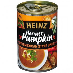 Heinz Soup Pumpkin Mexican Spices